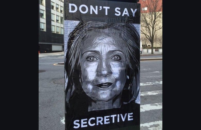 Hillary Secretive 2