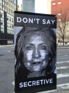 Hillary Secretive