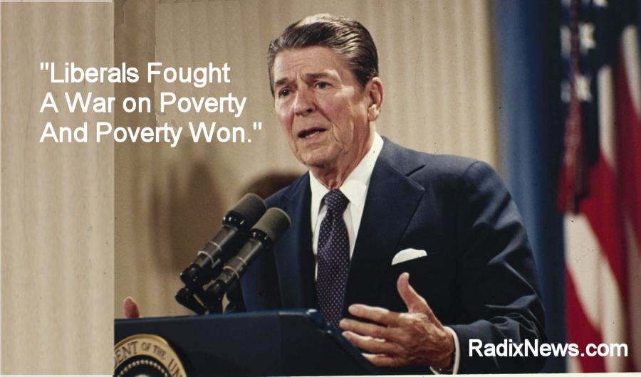 Reagan poverty