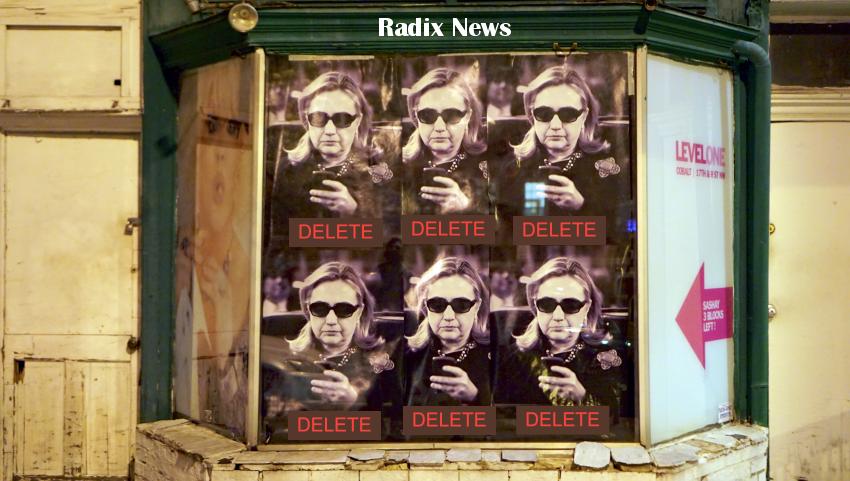 Hillary delete