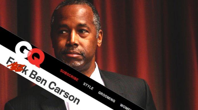 GQ Ben Carson