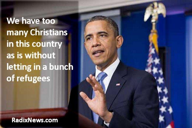 Obama Xian Refugees