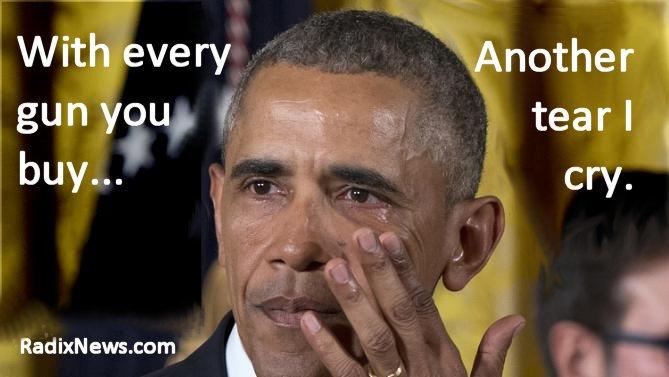 Obama cries more
