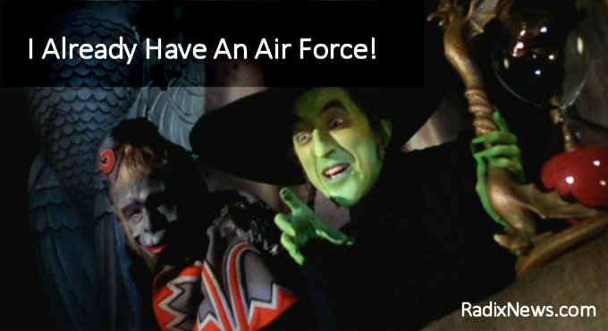 Air Force Witch