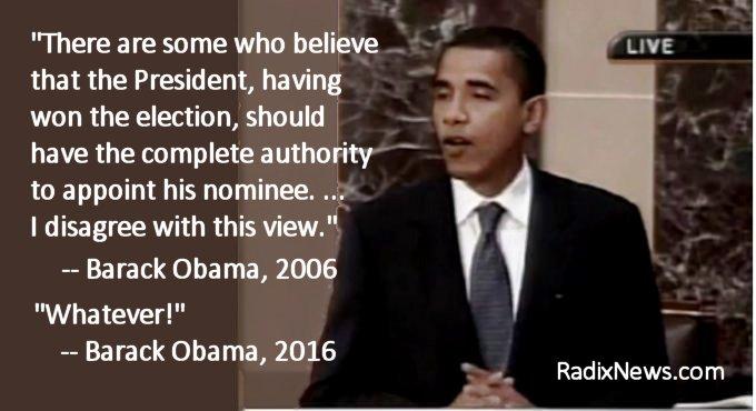 Obama on Confirmation
